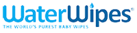 Бебешки почистващи кърпички Water Wipes logo
